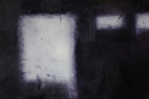 mute iv - 2' x 2' oil on canvas