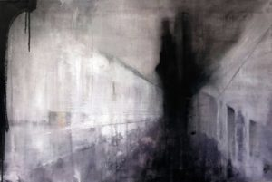 some other place  -  60x90 cms oil on canvas
