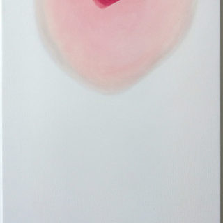 making up - 45 x 105 cms  oil on canvas