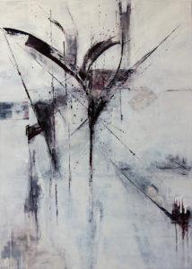 row - 75 x 105  oil on canvas