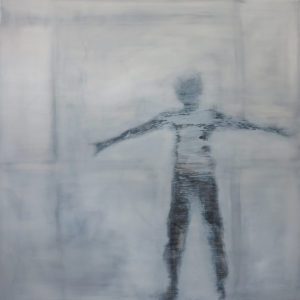 will - 105 x 105 oil on canvas