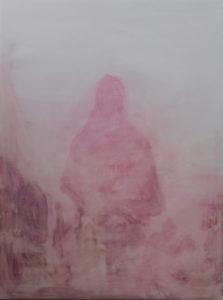 debris ii - 75 x 105 cms mixed media on canvas