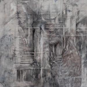 fantasm ii  105 x 105 cms oil on linen