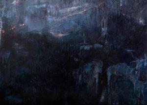 fantasm iii  75 x 105 cms, oil on canvas