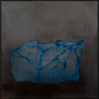 sliver iii 50 x 50 cms, oils on linen